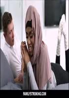 Black Muslim Teen Stepsister Family Sex With White Stepbrother [欧美AV]