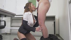 美人痴女上司とオフィスで二人きり2