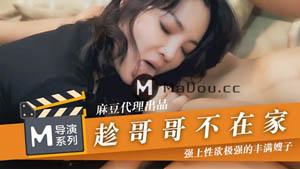 趁哥哥不在家 强上性欲极强的丰满嫂子 麻豆导演系列